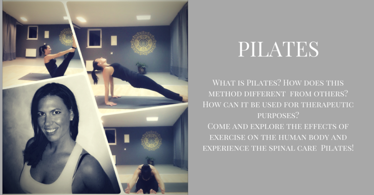 PilatesWhat is Pilates? How does this method differ from the rest?How can it be used for therapeutic purposes?Come and explore the effects of exercise on the human body and experience th